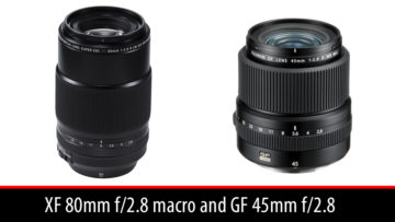 xf 80mm macro gf 45mm 2.8