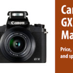 Canon PowerShot GX 1 Mark III: Price, release date and specs