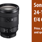 Sony FE 24-105mm f/4 G OSS and FE 400mm f/2.8