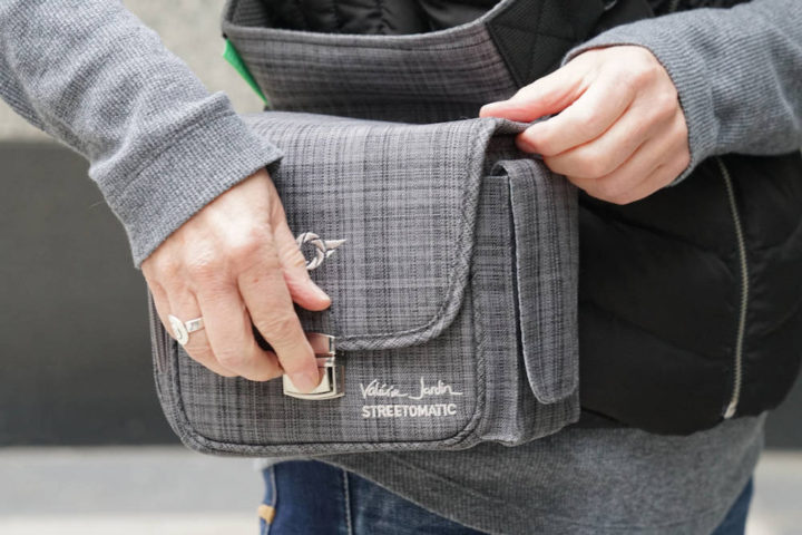 Cosyspeed launches the 'STREETOMATIC Valerie Jardin Edition' Camera Bag to support a project for homeless people