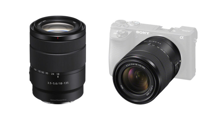 Sony announces the E 18-135mm f/3.5-5.6 APS-C zoom and silver a6300