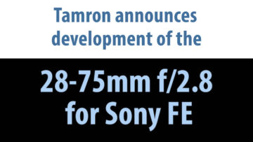 tamron 28-75mm 2.8 fe